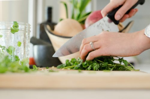 手作りの料理